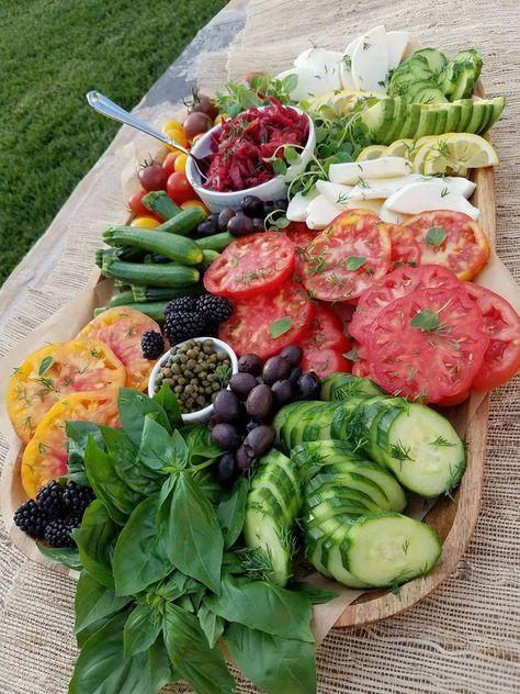 Grazing salad boxes