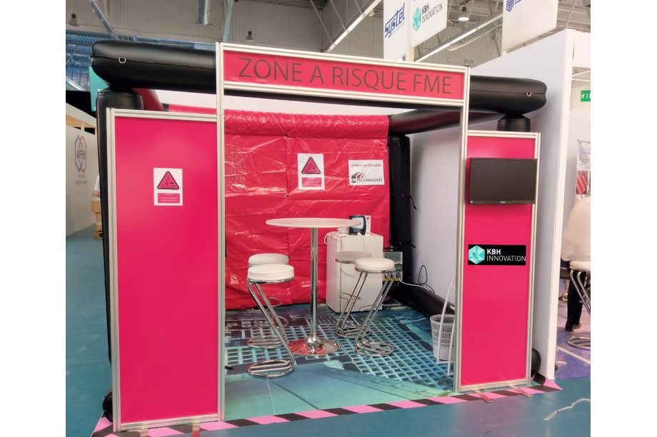 KBH's booth