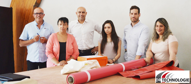 équipe de DR Technologie