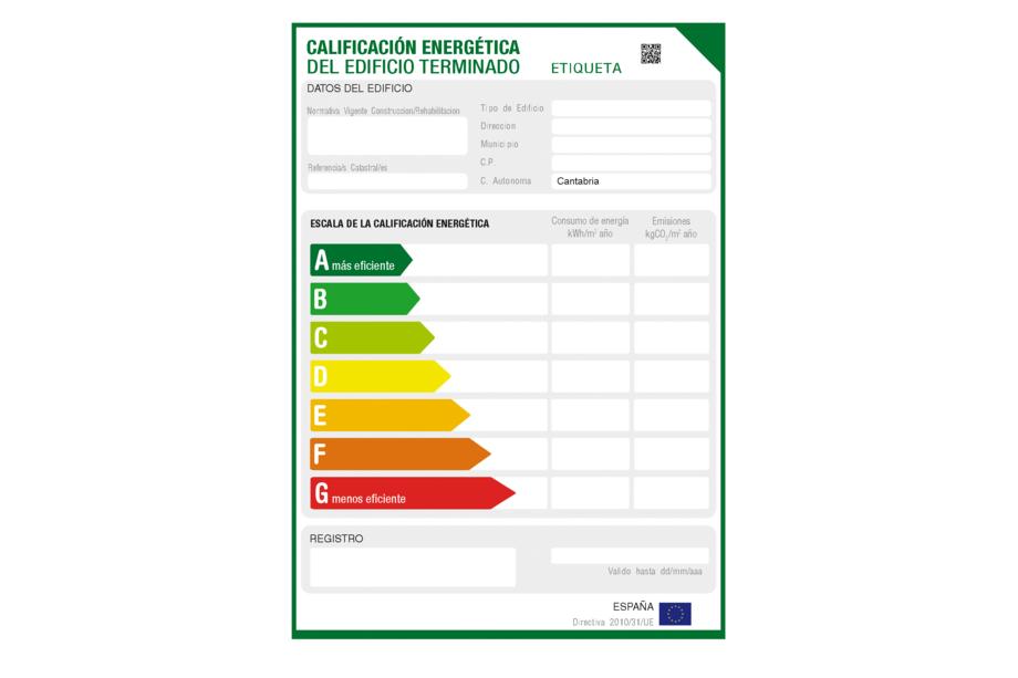 certificado energetico de pisos