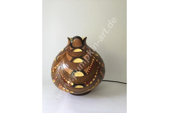 Kalebassenlampe