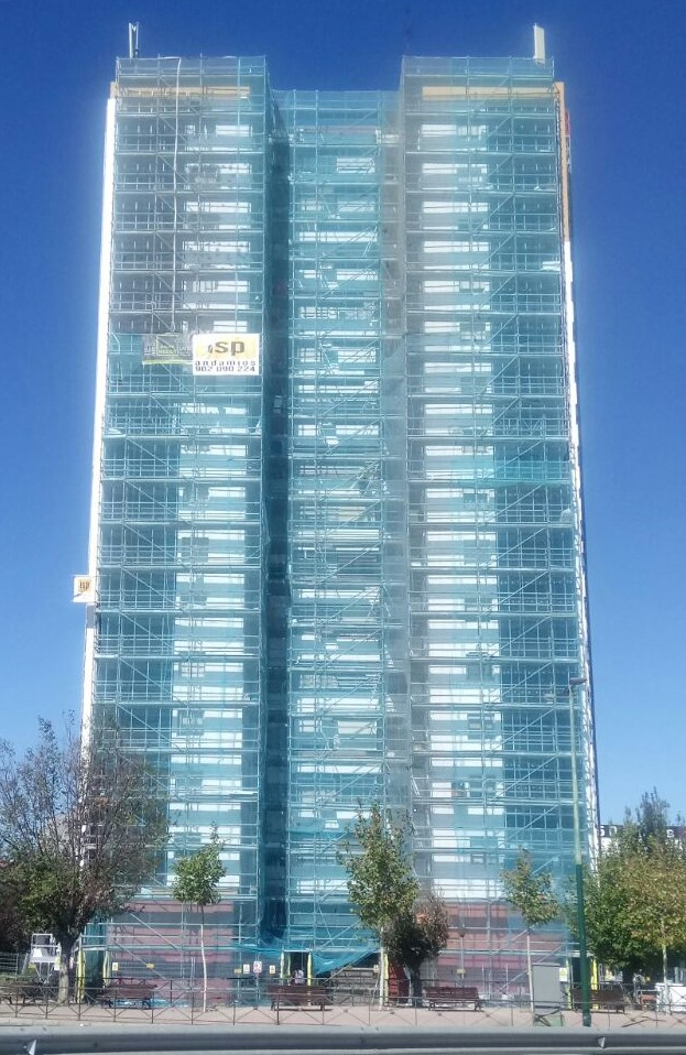 Fachada Ventilada de paneles fotovoltaicos