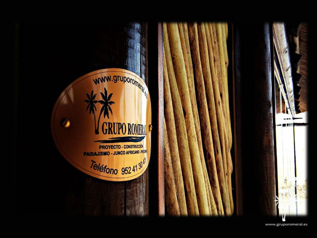 Chapa de junco africano - Grupo Romeral