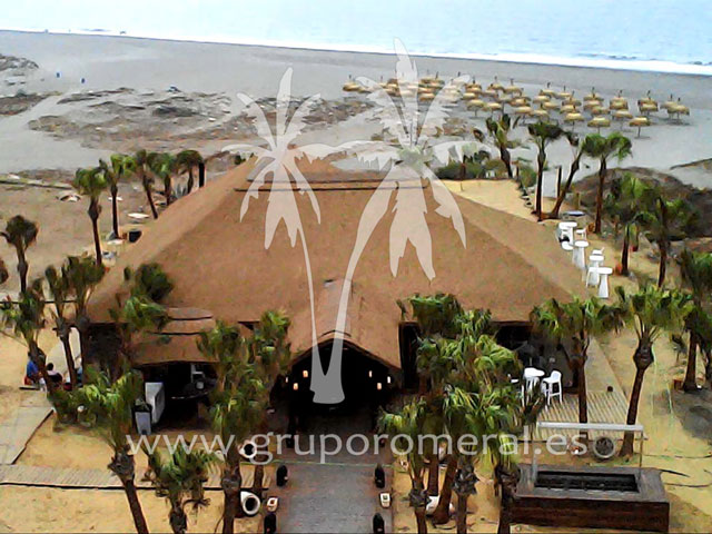 Beach Club - Casas de junco africano