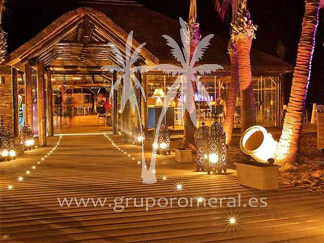 Beach club - Iluminacion led