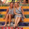 Kat and I at Escadaria Selarón in Rio in 2018