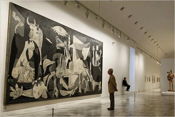 EL LEGADO DEL GUERNICA EN EL MUSEO REINA SOFIA.............ADULTOS