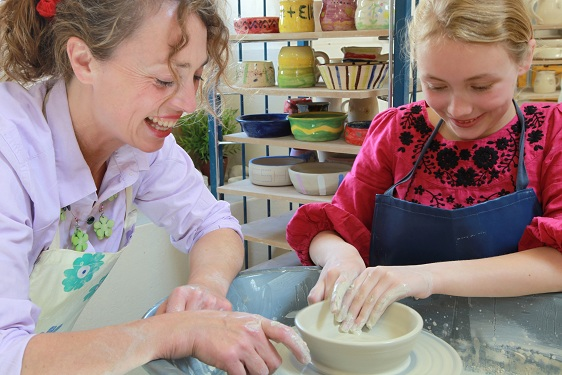 Childrens Pottery Party