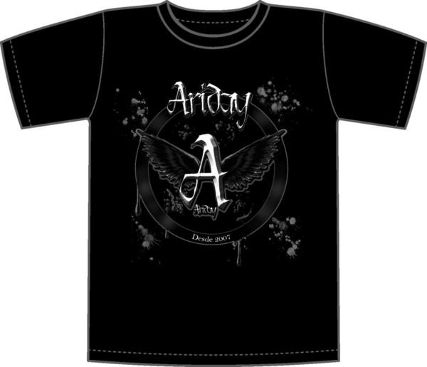 Camiseta serigrafiada 1 tinta