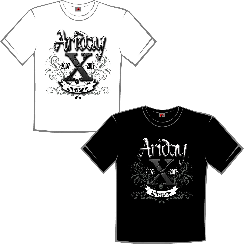 Camiseta X aniversario
