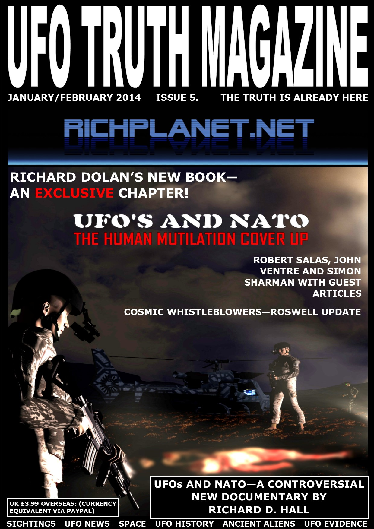 UFO TRUTH MAGAZINE ISSUE 5