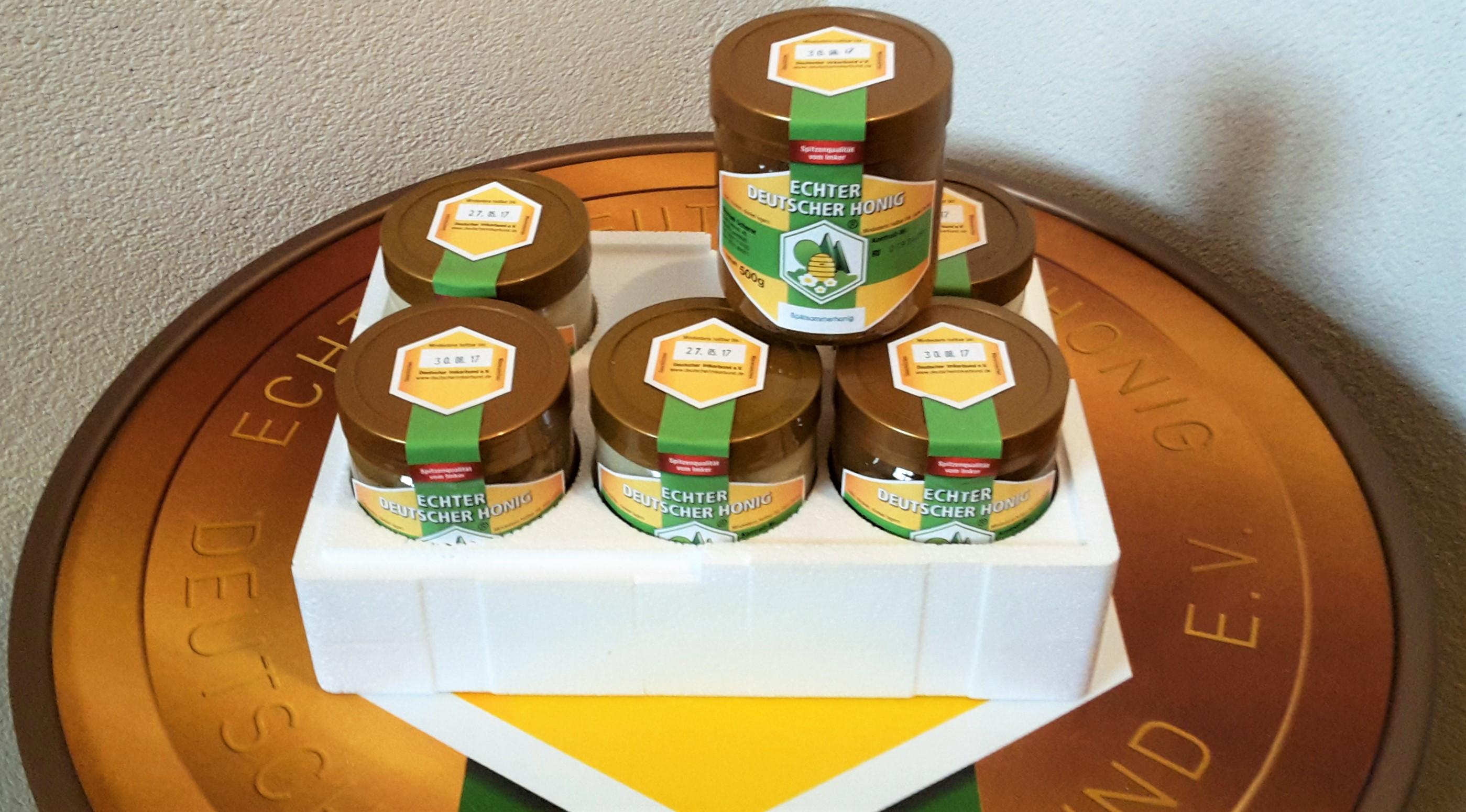 6 Gläser Landstuhler Honig vom Imker