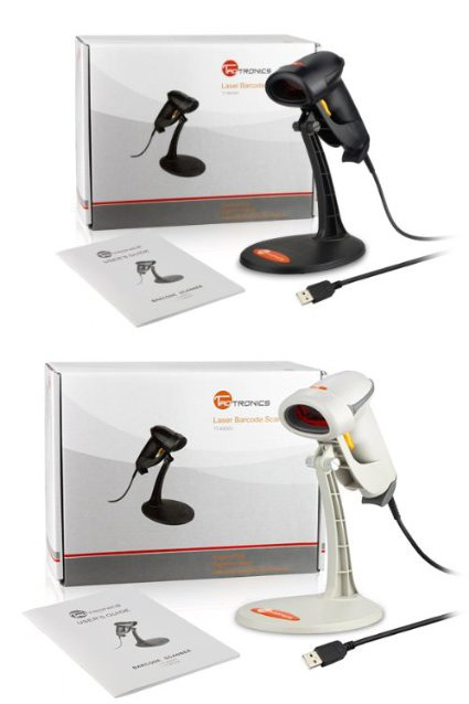 TaoTronics® USB Barcodescanner Laser