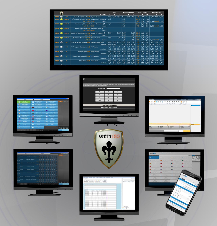 Softwarepaket Sports Betting