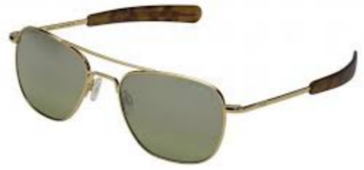 Randolph Aviator AF211 Gold 23K Green Flash