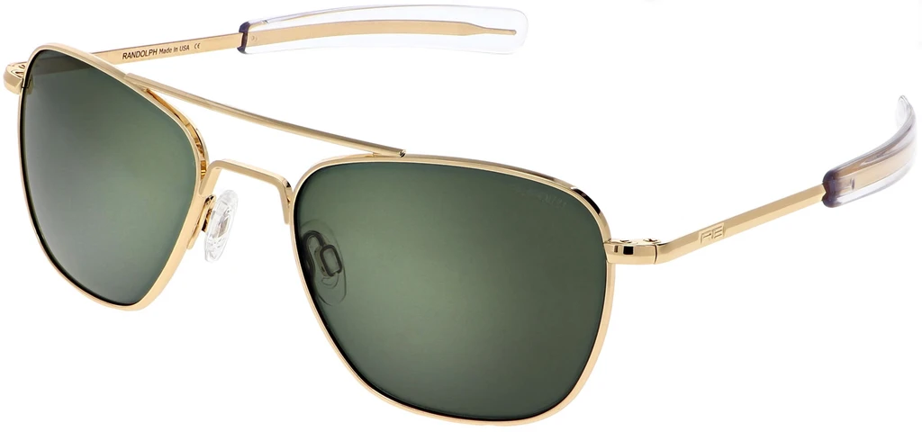 Randolph Aviator AF059 Gold 23K AGX Polarized