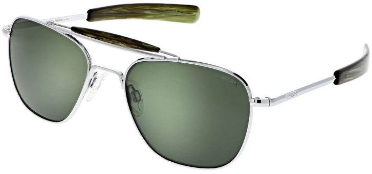 Randolph Aviator II AT001 Bright Chrome 23K AGX Polarized