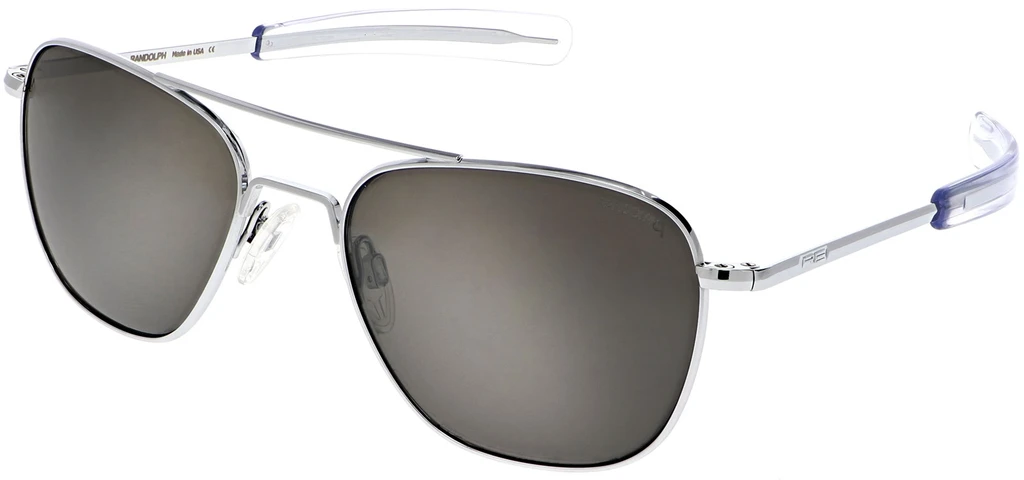 Randolph Aviator AF025 Bright Chrome American Gray