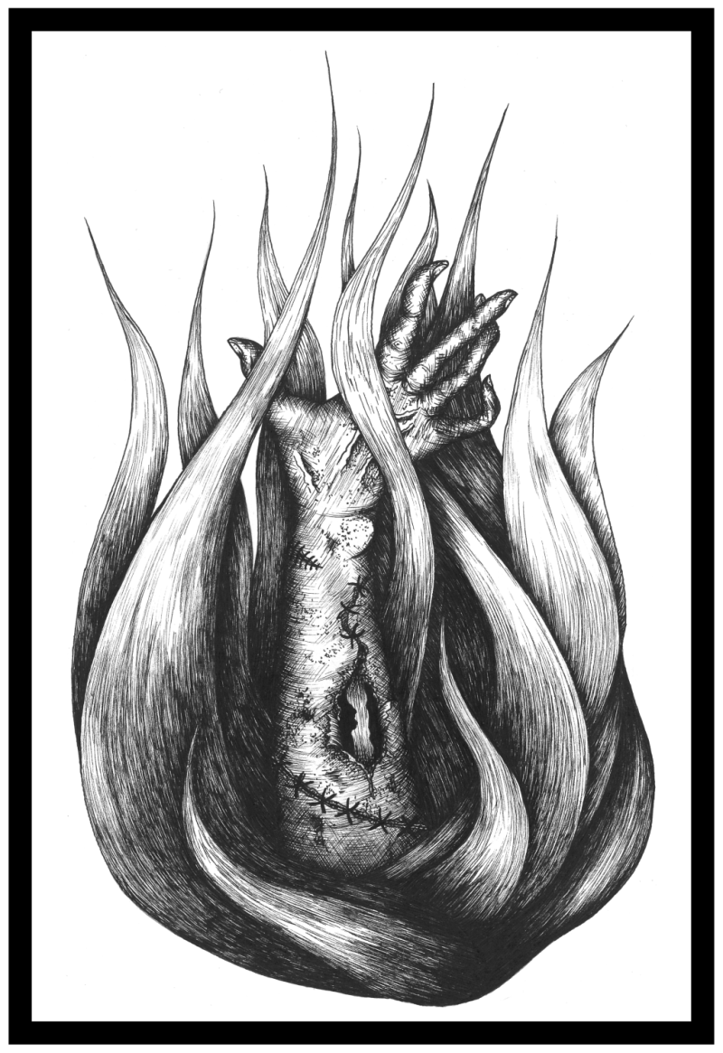 """Frankenstein"" Art Print"