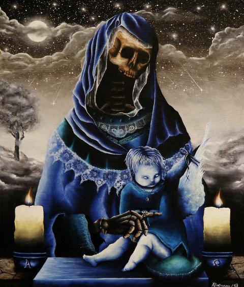 """""""Aus Tod wird Heimat"""" Art Print"""