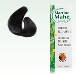 Martine Mahé nº1, Black, without ppd! 125 ml (approx. 4.23 fl oz), 2-3 applications.
