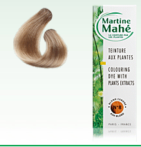 Martine Mahé nº8 Ash Blond, without ppd! 125 ml (approx. 4.23 fl oz), 2-3 applications.