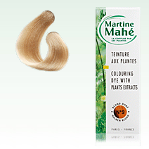 Martine Mahé nº9 Golden Blond, without ppd! 125 ml (approx. 4.23 fl oz), 2-3 applications.