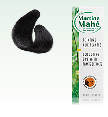 Martine Mahé nº2, Dark Brown, without ppd! 125 ml (approx. 4.23 fl oz), 2-3 applications.