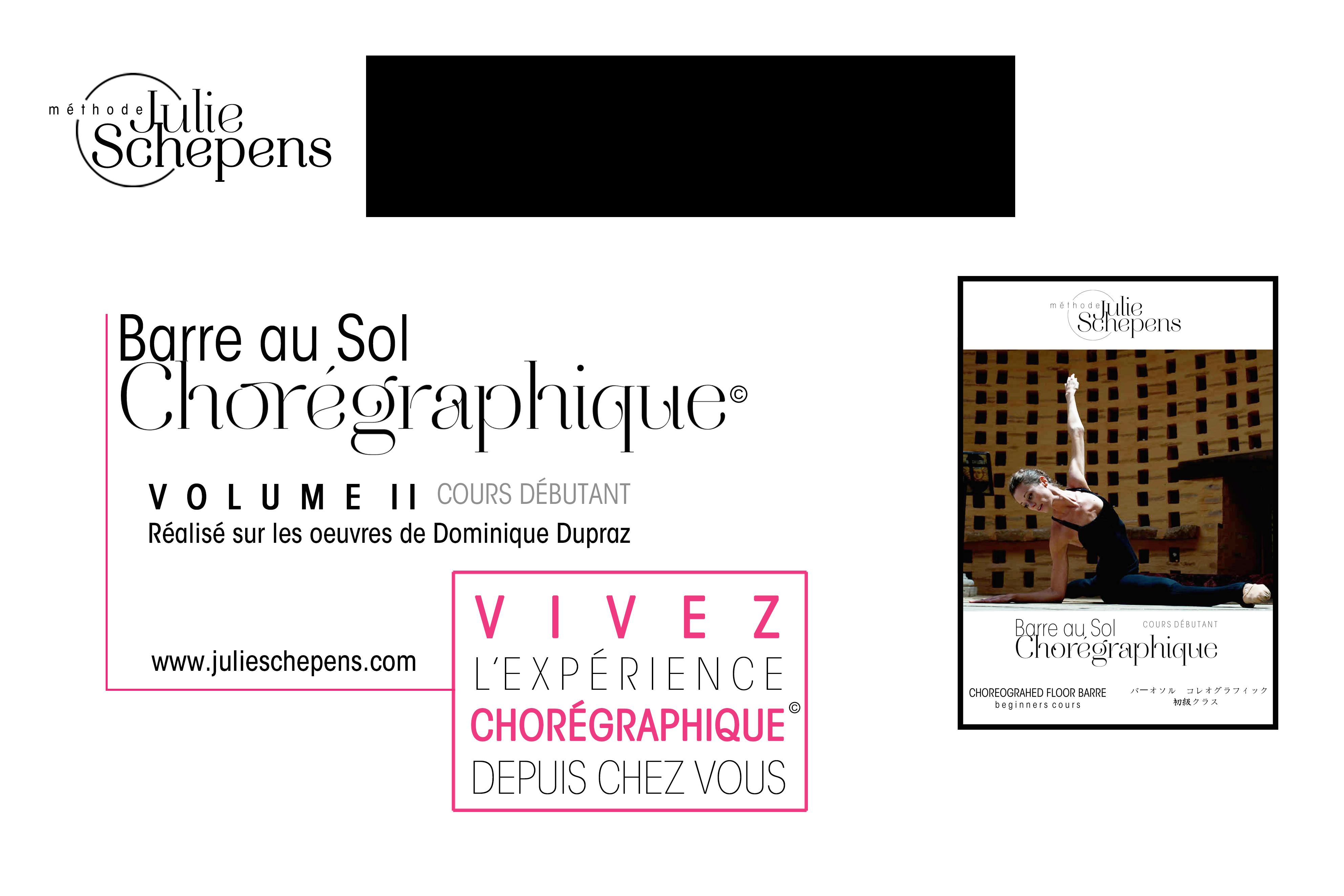 Barre au Sol Chorégraphique© DVD Vol II DEBUTANT