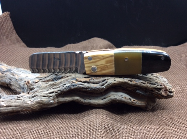 Couteau Damas Réf D 1219/38