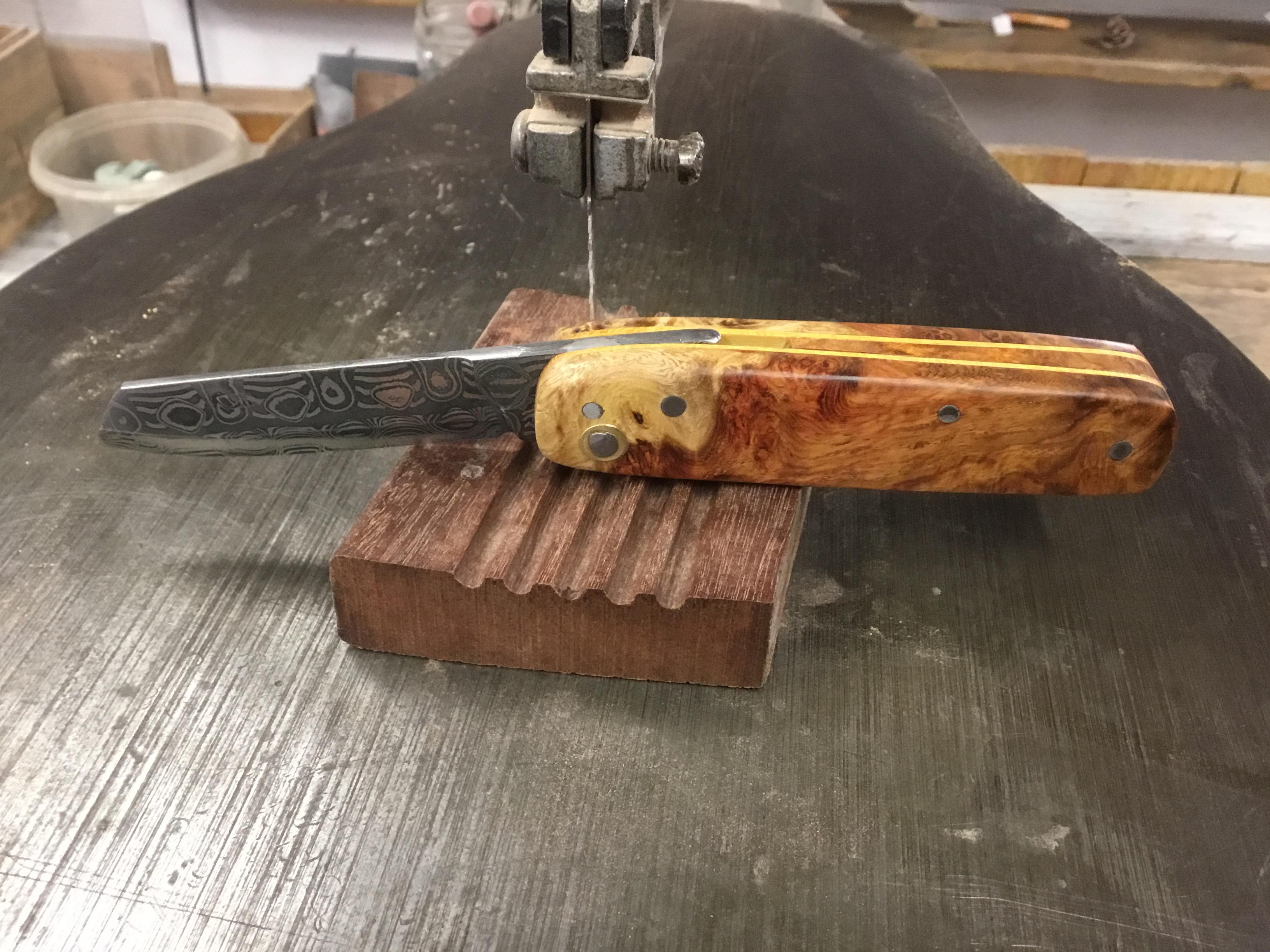 Couteau Damas Réf D 1219/31