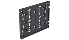 VIP Universal Licence Plate Frame, Large, Black - Ref 107307