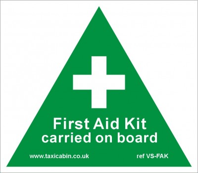 FIRST AID KIT carried on board - Ref. VS-FAK
