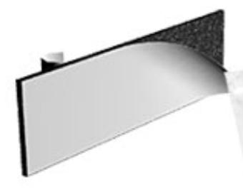 High Bond, Double Sided, heavy duty Sticky Pad - Ref 102600
