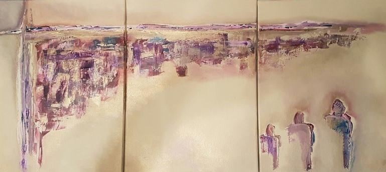 Abstrakt Triptychon