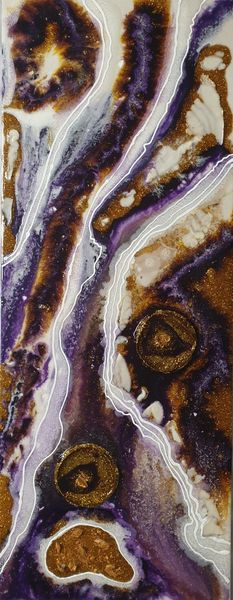 Abstrakt Geode