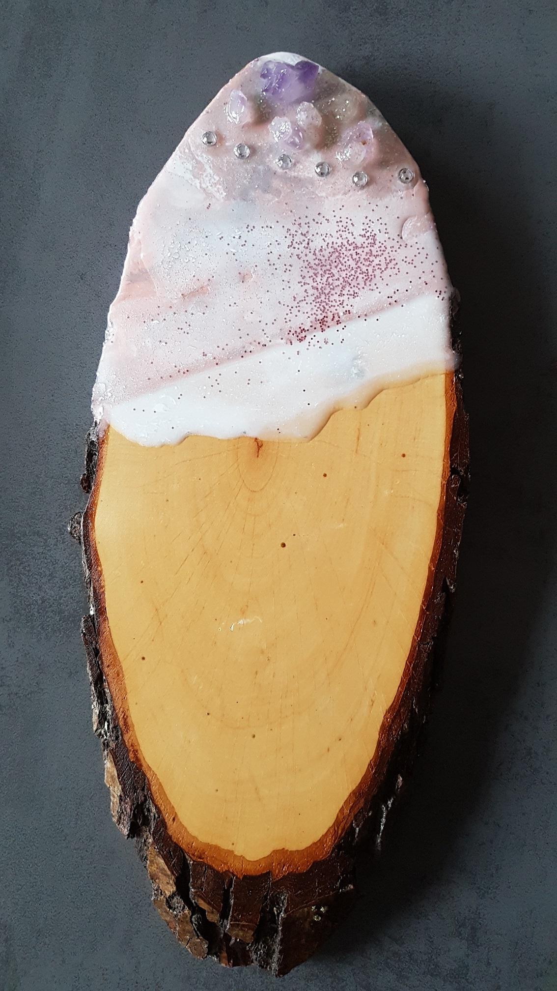 Käsebrett / Schneidbrett rosa2