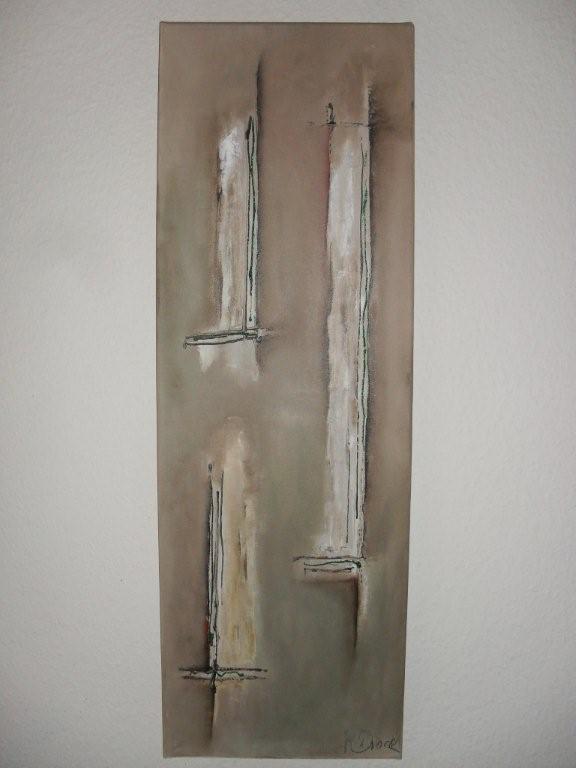 Abstrakt braun