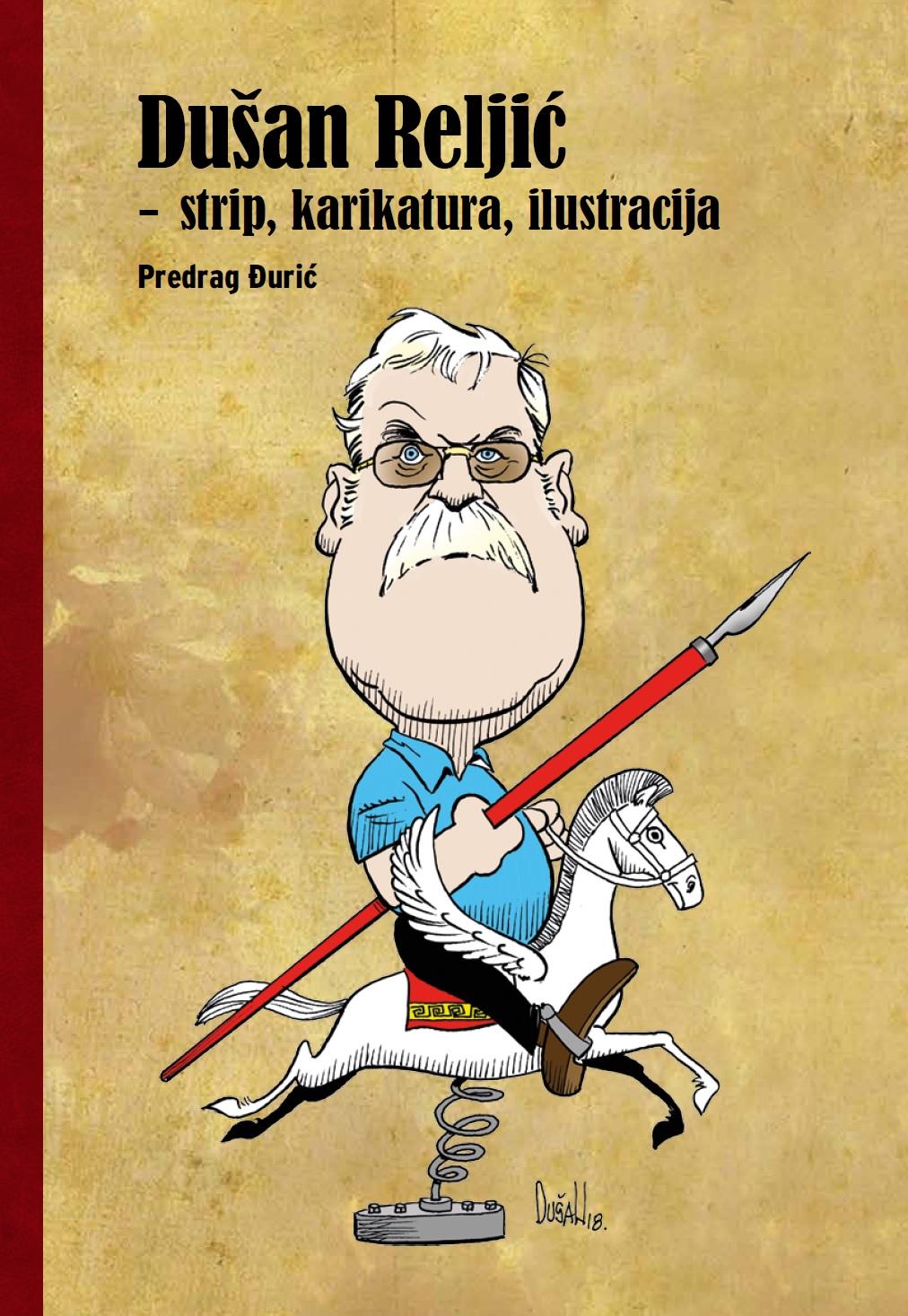 Dušan Reljić- strip, karikatura, ilustracija