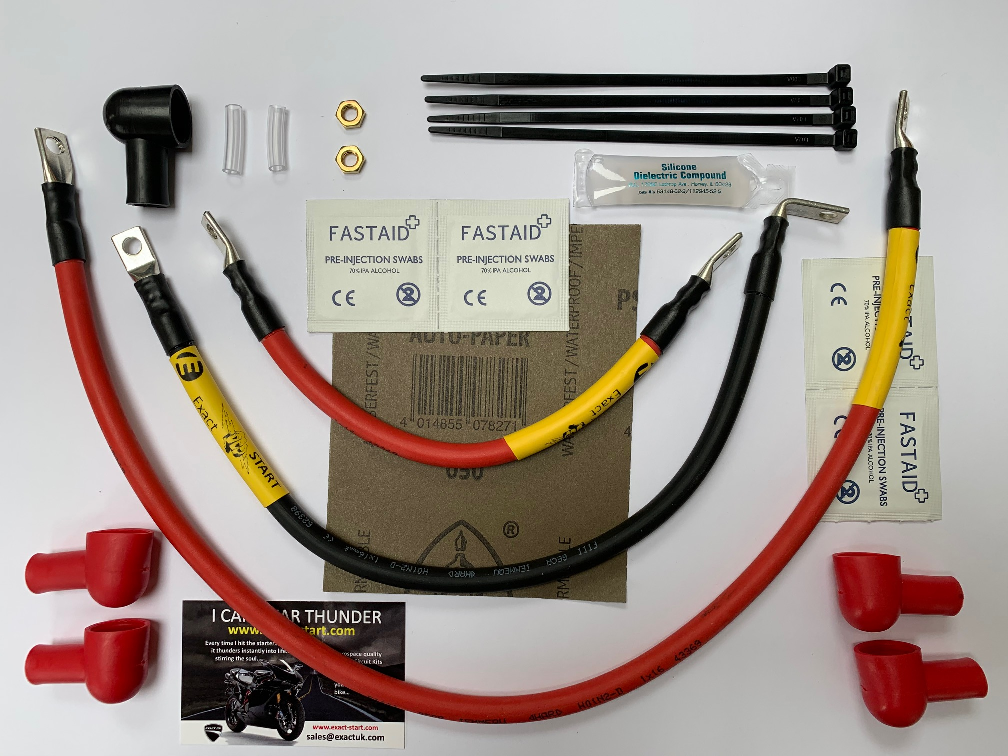 Ducati High Performance Starter Cable Kits ES-31 to ES-40