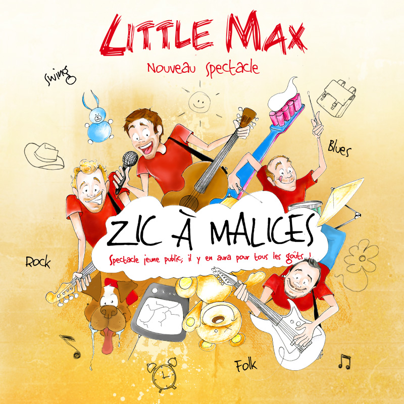 "EP LittleMax ""Zic à Malices"" - 4 titres (2016)"