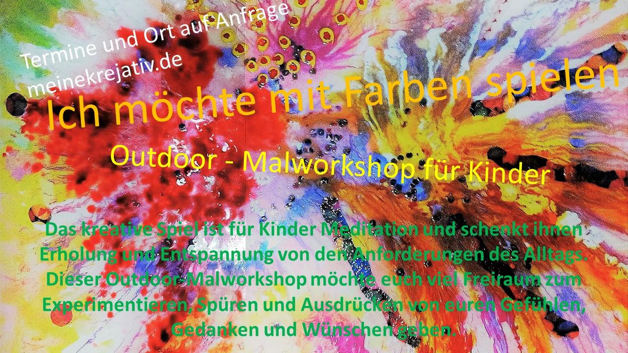 Outdoor Malworkshop für Kinder