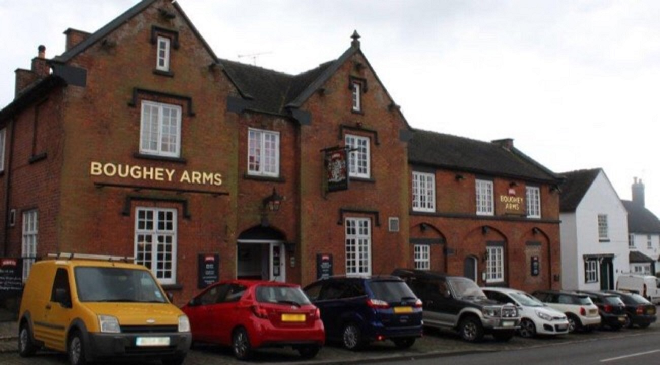 "Thurs, 31st October 2019 - ""The Boughey Arms"""