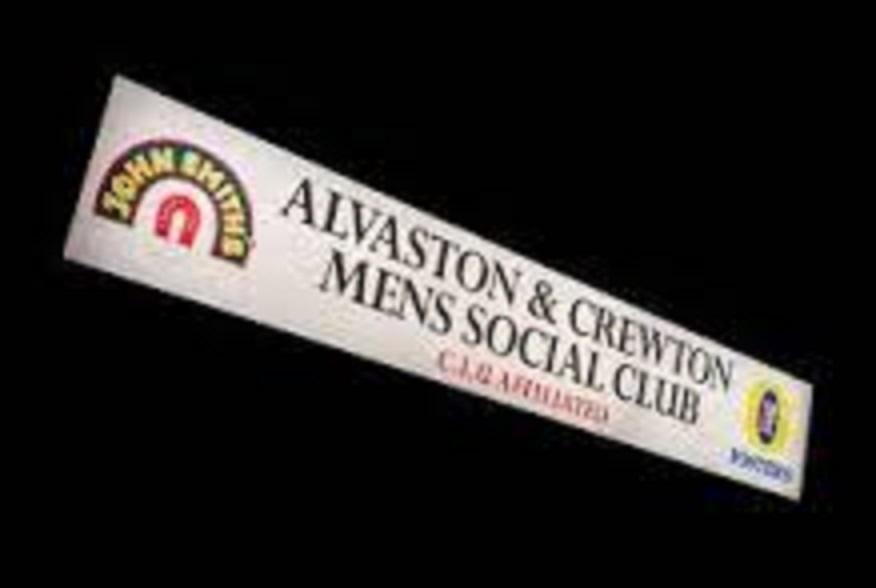 """Fri, 6th October 2017 - """"Alvaston Mens Social Club"""""""