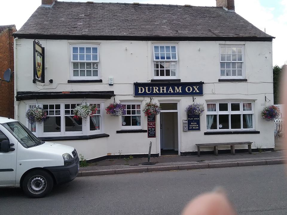 """Thurs, 5th October 2017 - """"The Durham Ox"""""""