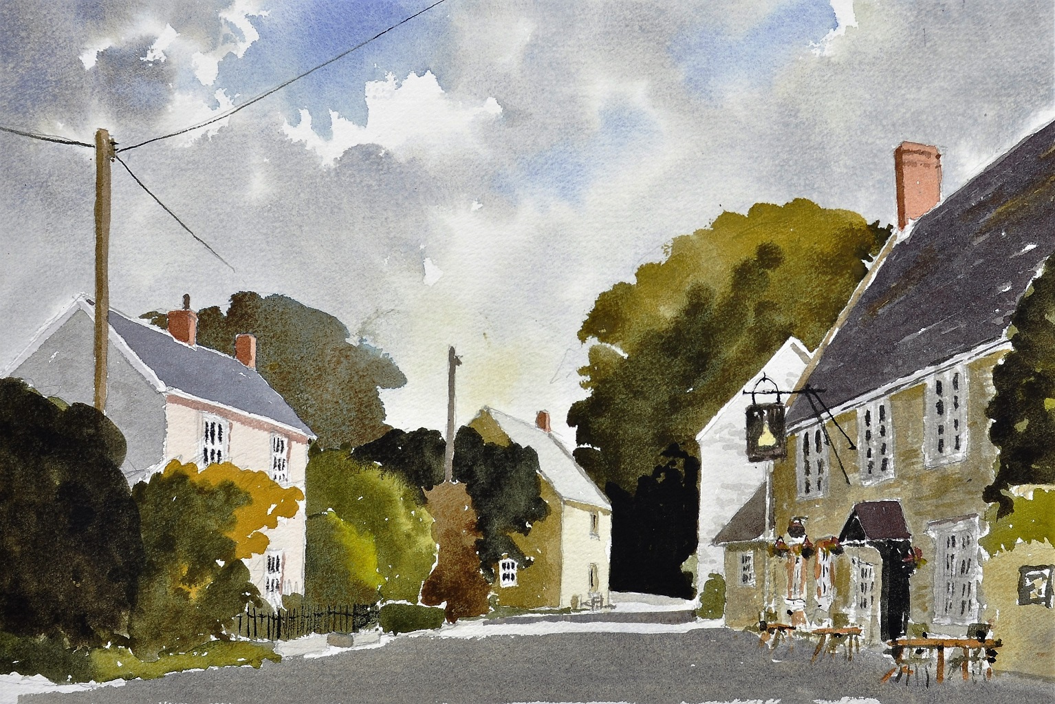 Wylye Village, Wiltshire