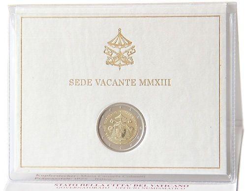 2 Euro Siège vacant VATICAN 2013