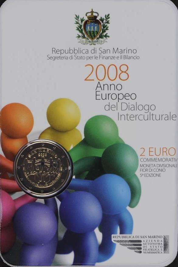 2€ SAN MARIN 2008