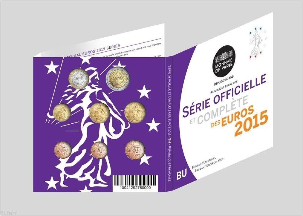Coffret BU France 2015