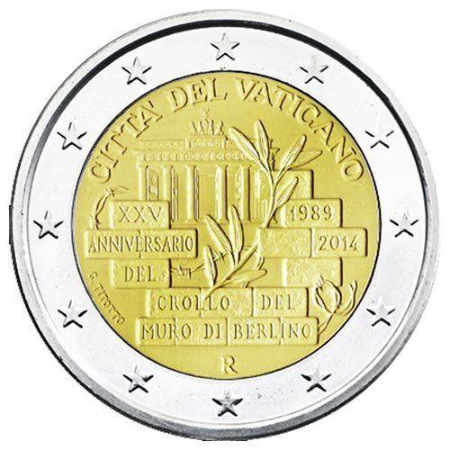 2 Euro CHUTE DU MUR DE BERLIN 2014